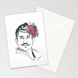 Dorian Flower Crown Stationery Cards