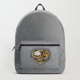 Steampunk Heart with Manometer Backpack