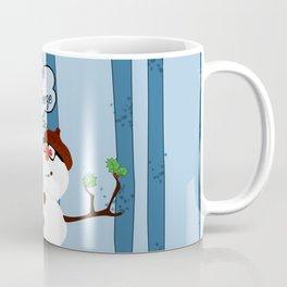 Funny Snowman Holiday Design Coffee Mug