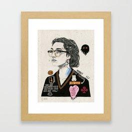 Heart Breaker. Framed Art Print