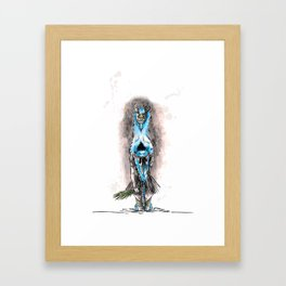 Pagan Costume 2 Framed Art Print