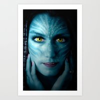 avatar Art Prints featuring Avatar by Karel Stepanek