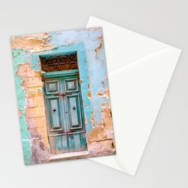 Blue Door in Antigua, Guatemala Stationery Cards