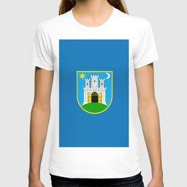 Flag of Zagreb T-shirt
