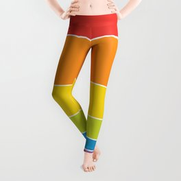 Pride: Rainbow Sunset Leggings