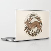 rabbit Laptop & iPad Skins featuring Rabbit by Jessica Roux