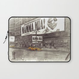 NYC Yellow Cabs Musical - SKETCH Laptop Sleeve