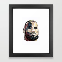 Eyes of An OG Framed Art Print