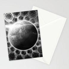Beautiful Deep Dream Fractal Mandala of Kepler-62e Stationery Cards