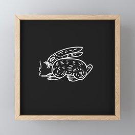Chill Rabbit Framed Mini Art Print