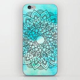 Sea Mandala iPhone Skin