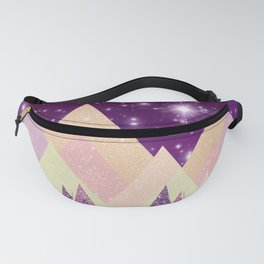 Starry Mountains Fanny Pack