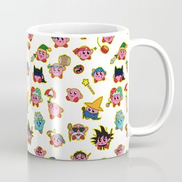 Kirby is swallowing everyone in here. Coffee Mug