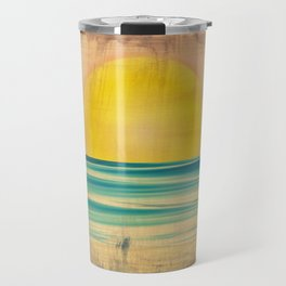 Ocean Sunset 1.0 Vintage Travel Mug
