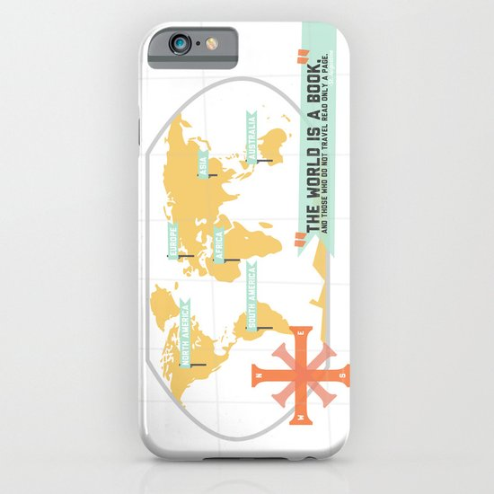 The World is a Book iPhone & iPod Case