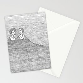 The Murderous Maids Of Le Mans Stationery Cards