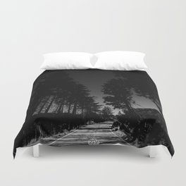 HEADING TO THE TOP Duvet Cover