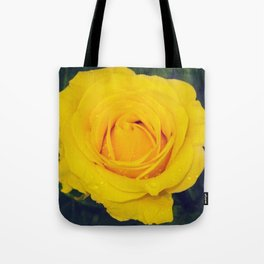 London Yellow Flower Tote Bag