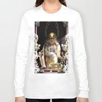 nirvana Long Sleeve T-shirts featuring NIRVANA by AlehandroMariaRizla