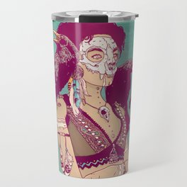 Raven Lady Travel Mug
