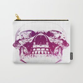 purple crystal skull Carry-All Pouch