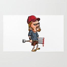 Redneck spade killer Rug