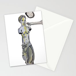 venus the milo thanks you for the cigarette Stationery Cards