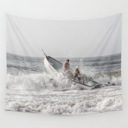 Lifeboat Margate Wall Tapestry