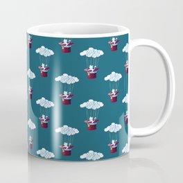 Traveler Cat Pattern Coffee Mug