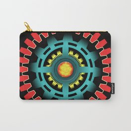 Abstract mechanical object Carry-All Pouch