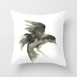 Crowing Throw Pillow