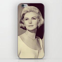 Joanne Woodward, Vintage Actress iPhone Skin
