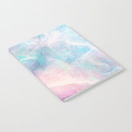Iridescent marble Notebook