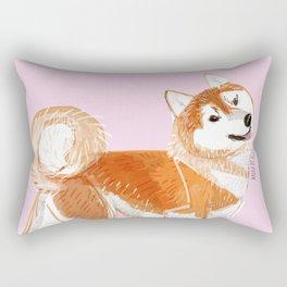 Japanese Dog Breeds: Akita Inu Rectangular Pillow