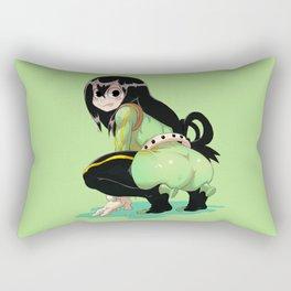 Tsuyu Asui Wow Rectangular Pillow