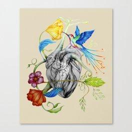 Heart's Love Canvas Print
