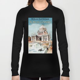 Vintage 1893 Chicago World's fair expo Long Sleeve T-shirt