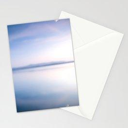 violet blow Stationery Cards