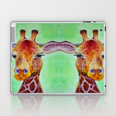 Colorful Giraffe Laptop & iPad Skin