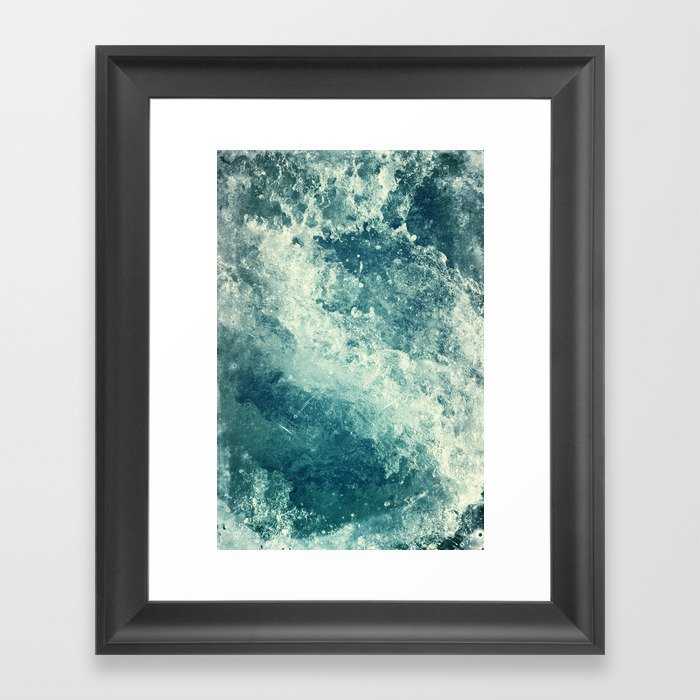 Water I Framed Art Print