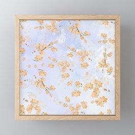 Cherry Flower 4 Framed Mini Art Print
