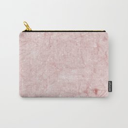 Pretty in Pink Marble Carry-All Pouch