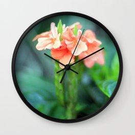 Flower 1 Wall Clock