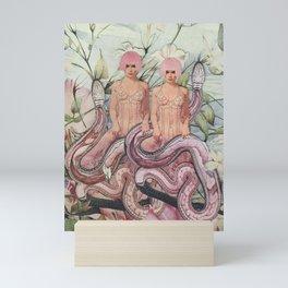 Snake Charming Mini Art Print