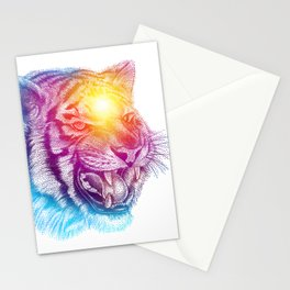 Animal III - Colorful Tiger Stationery Cards