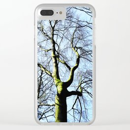 Naked Tree Clear iPhone Case