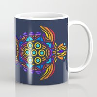 turtle Mugs featuring Turtle by ArtLovePassion