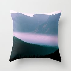 Whispers in the mountains Throw Pillow