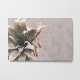 Baby Pineapple Metal Print