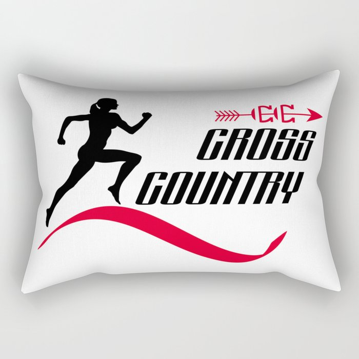 Cross country Rectangular Pillow